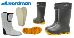 Guminiai batai NordMan Quaddro 093-01 Žvejo avalynė