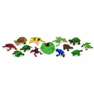 Gyvūnų figurėlės Toob-Frogs&Turtles