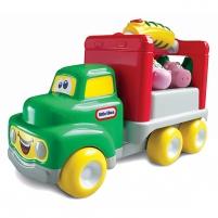 Gyvūnų pervežimo mašinėlė su rankena | Farm truck | Little Tikes
