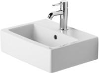 Handrinse basin 45 cm Vero, white,with overflow,