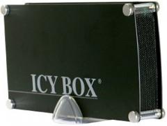 HDD korpusas Icy Box  3,5 SATA arba IDE  1xUSB 2.0 Juodas