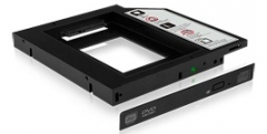 HDD korpusas Icy Box Adapter For 2.5 SSD/HDD Laptop Extension, Black
