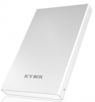 Icy Box External 2,5 HDD case SATA I/II/III with USB 3.0, White