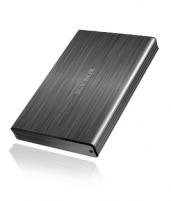 Icy Box External 2,5 HDD case SATA to 1x USB 3.0, Aluminium  Protection bag Hdd kastes