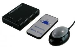 HDMI perjungėjas LogiLink 3-Port su stiprintuvu ir nuotoliniu valdymu