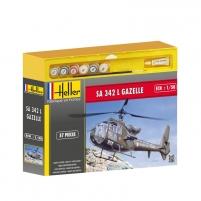 Heller plastikinio sraigtasparnio modelio rinkinys 50486 SA 342 L GAZELLE 1/72