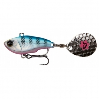 Hibridinis Masalas Savage Gear 6.5cm 16g Skęstantis Blue Silver Pink