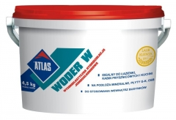Hidroizoliacija Atlas WODER W 4,5 kg Damp proofing blends