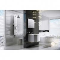 Hidromasažinė sienelė Jet Glass Shower faucets