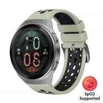 Huawei Watch GT 2e mint green with green & black TPU strap (HTC-B19) Išmanieji laikrodžiai ir apyrankės