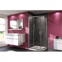Huppe pusapvalė shower 90x90 X1 R-550mm