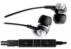 Į ausis įstatomos ausinės Denon AH-C260R Juodos