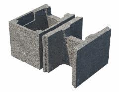 Įdiegti klojiniai pamatams ir sienoms HAUS P25 Betono blokeliai