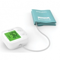 iHealth Track KN-550BT White/Blue, Automatic, Calculation of blood pressure (systolic and diastolic), Calculation of heart rate, Wireless Bluetooth connection, Weight 438 g Kraujospūdžio matuokliai