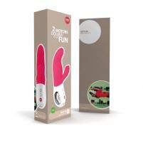 Įkraunamas vibratorius MISS BI (rožinis) Vibratoriai kiškučiai