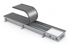 Įleidžiamas grindinis konvektorius FC 500x22x9 Grindiniai konvektoriai