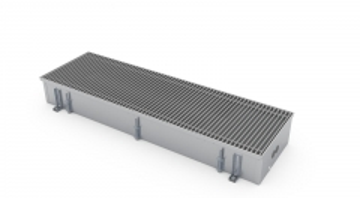 Įleidžiamas grindinis šildymo/vėsinimo konvektorius su vėdinimo pajungimu FCHV 300x36x16 Grīdas konvektori