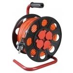 Ilgiklis ritėje plastmasinėje, 4 lizdų, 50m, 3x1,5, IP44, Jonex PS-BT S IP44/50 Power extenders