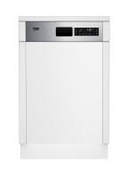 Įmontuojama indaplovė Dishwasher Beko DSS28020X Fitted with dishwasher
