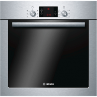 Įmontuojama orkaitė Bosch Oven HBA23S350S Built-in, 66 L, Stainless steel, Eco Clean, A, Push-pull buttons, Height 60 cm, Width 60 cm, Electric Cepeškrāsns