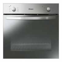 Įmontuojama orkaitė Candy Oven FCS100X Multifunction, 71 L, Stainless steel, Manual, A, Rotary knobs, Height 60 cm, Width 60 cm, Conventional Įmontuojamos orkaitės