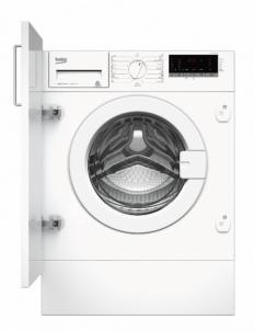 Įmontuojama skalbimo mašina Washing machine Beko WITC7612B0W | 7kg 1200 obr. A+++ Įmontuojamos skalbimo mašinos