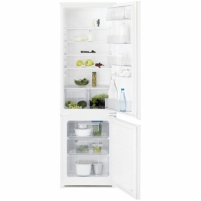 Šaldytuvas Electrolux ENN 12800AW Built-in fridge-freezer/H177/Fridge202L/Freezer 75L/Interior lighting/ 36dB/EC A+