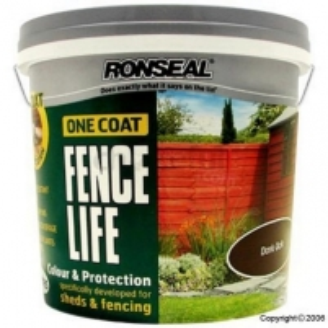 Impregnantas medienos 5 lit žalias One Coat Fencelife vienu sluoksniu