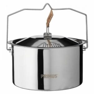 Indai stovyklavimui CampFire Pot S/S 3L 6pcs Maisto gaminimo įranga