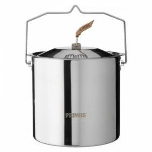 Indai stovyklavimui CampFire Pot S/S 5L 6pcs Maisto gaminimo įranga