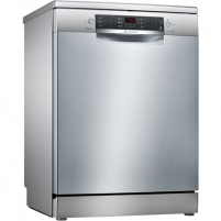 Dishwasher Bosch Dishwasher SMS46KI01E Free standing, Width 60 cm, Number of place settings 13, Number of programs 6, A++, AquaStop function, Silver Dishwasher