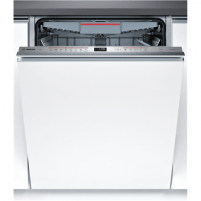 Indaplovė Bosch Dishwasher SMV68MX05E Built in, Width 60 cm, Number of place settings 14, Number of programs 8, A+++, Display, AquaStop function, White Indaplovės