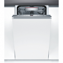 Dishwasher Bosch Dishwasher SPE66TX05E Built in, Width 45 cm, Number of place settings 10, Number of programs 6, A+++, Display, AquaStop function, White Dishwasher