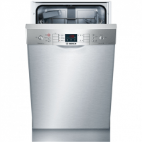 Dishwasher Bosch Dishwasher SPU45II00S Built-in, Width 44.8 cm, Number of place settings 9, Number of programs 5, A++, AquaStop function, Stainless steel Dishwasher