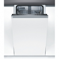 Indaplovė Bosch Dishwasher SPV25CX01E Built in, Width 45 cm, Number of place settings 9, Number of programs 5, A+, AquaStop function, White Indaplovės