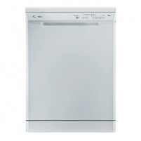 Indaplovė Candy Dishwasher CDP 1L39W Free standing, Width 60 cm, Number of place settings 13, Number of programs 5, A+, AquaStop function, White Indaplovės