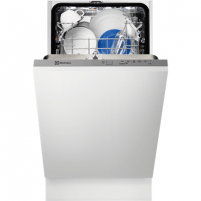 Dishwasher Electrolux ESL4201LO Fully built in, Width 45 cm, Number of place settings 9, Number of programs 5, A+, AquaStop function, Stainless steel