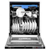 Indaplovė ETA Dishwasher ETA239490001 Built-in, Width 60 cm, Number of place settings 14, Number of programs 9, A++, Display, AquaStop function, Stainless steel Indaplovės