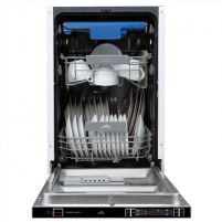 Indaplovė ETA Dishwasher ETA239590001 Built-in, Width 45 cm, Number of place settings 10, Number of programs 9, A++, Display, AquaStop function, Stainless steel Indaplovės