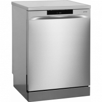 Indaplovė Gorenje Dishwasher GS65160X Free standing, Width 60 cm, Number of place settings 16, Number of programs 5, A+++, Display, AquaStop function, Stainless steel