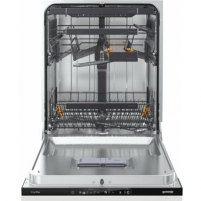 Indaplovė Gorenje Dishwasher GV66161 Built in, Width 60 cm, Number of place settings 16, Number of programs 5, A++, Display, AquaStop function, White Indaplovės