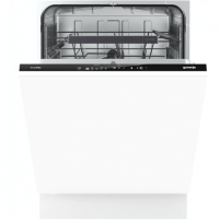 Indaplovė Gorenje Dishwasher GV66261 Built in, Width 60 cm, Number of place settings 13, Number of programs 5, A+++, Display, AquaStop function, White Indaplovės