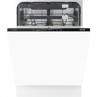 Indaplovė Gorenje Dishwasher GV68260 Built in, Width 60 cm, Number of place settings 13, Number of programs 5, A+++, Display, AquaStop function, White