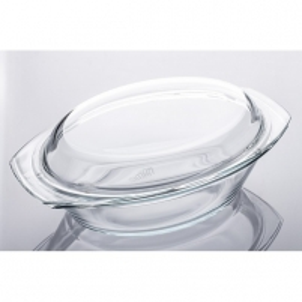 Indas kepimui stikl. s/d 3.5L ovalus SIMAX