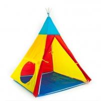 Indėnų stiliaus vaikiška palapinė 100 x 140 m Rotaļu laukumi