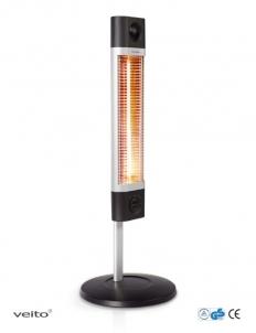 Infraraudonųjų spindulių šildytuvas Veito CH1800 XE, juodas