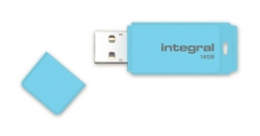 Integral Flash Drive Pastel 16GB, USB 3.0, Blue Sky Flash memory