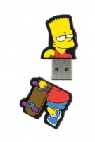 Integral Flashdrive The Simpsons, Bart, 8GB, rubberised silicone