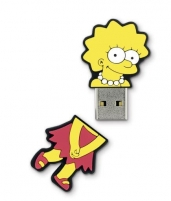 Integral Flashdrive The Simpsons, Lisa, 8GB, rubberised silicone