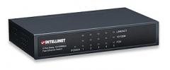 Intellinet komutatorius 5x10/100, metalas, desktop